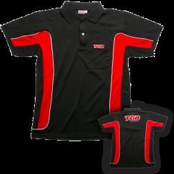 Polo rouge et noir tgb - taille s
