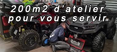 Atelier de réparation et d entretien pour Quad et SSV dans le Var (83)